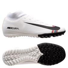 Nike Mercurial Superfly 6 Academy TF LVL UP - Grå/Sort/Hvid