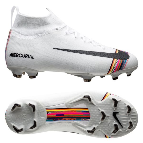 more photos 3695b 7e8a9 Nike Mercurial Superfly 6 Elite FG LVL UP - Pure Platinum/Black/White Kids