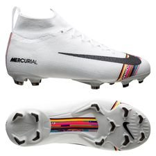 Nike Mercurial Superfly 6 Elite FG LVL UP - Grijs/Zwart/Wit Kinderen