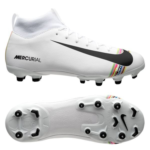 best loved 42127 c7dfc Nike Mercurial Superfly 6 Academy MG LVL UP - Pure Platinum/Black/White Kids