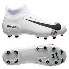 9f3335f1 Nike Mercurial Superfly 6 Academy MG LVL UP - Grå/Sort/Hvid Børn