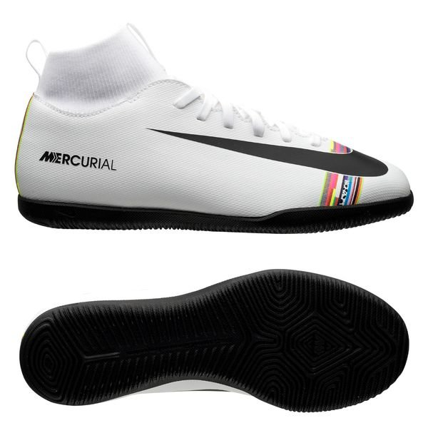 united states top design get new Nike Mercurial Superfly 6 Club IC LVL UP - Pure Platinum/Black/White Kids