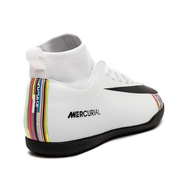 pick up factory price meet Nike Mercurial Superfly 6 Club IC LVL UP - Grau/Schwarz/Weiß Kinder