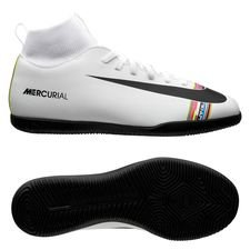 cb0690c3dd6 Nike Mercurial Superfly 6 Club IC LVL UP - Grå/Sort/Hvid Børn