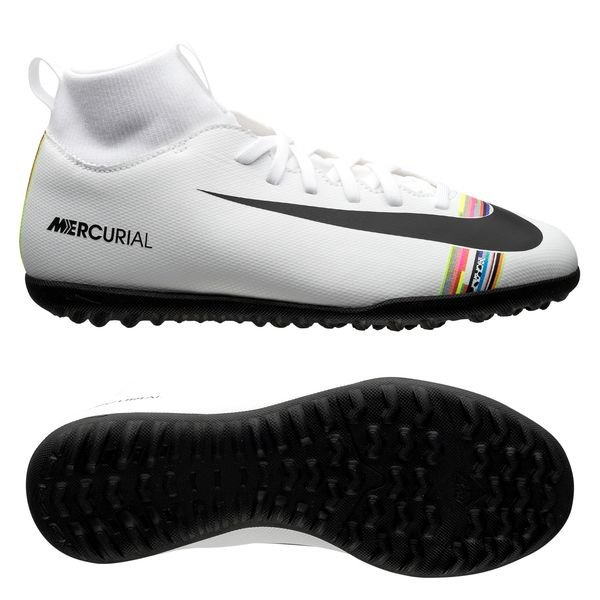 purchase cheap b1d33 f7c70 Nike Mercurial Superfly 6 Club TF LVL UP - Pure Platinum/Black/White Kids