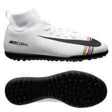 new arrival cce4a adb89 Nike Mercurial Superfly 6 Club TF LVL UP - Grå Svart Vit Barn