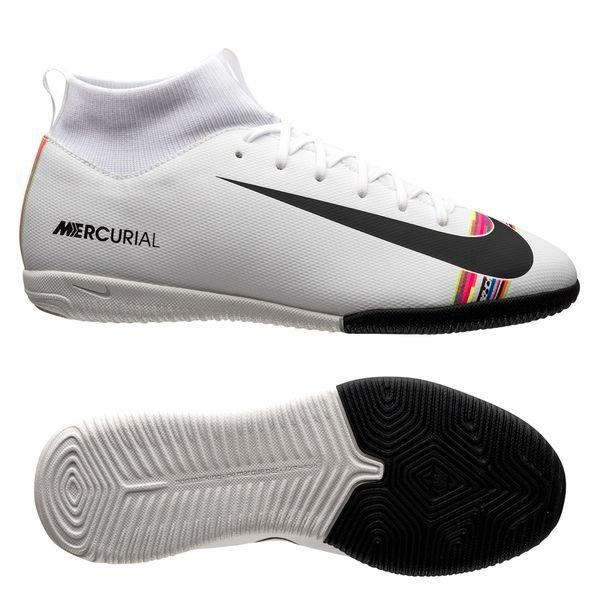 finest selection 9292b f0729 Nike Mercurial Superfly 6 Academy IC LVL UP - Grå Svart Vit Barn