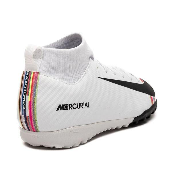 Nike Mercurial Superfly 6 Academy TF LVL UP GrisNoirBlanc Enfant