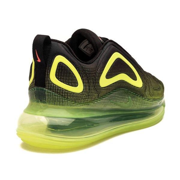 san francisco 08c52 40682 Nike Air Max 720 - Schwarz Rot Neon Kinder 2