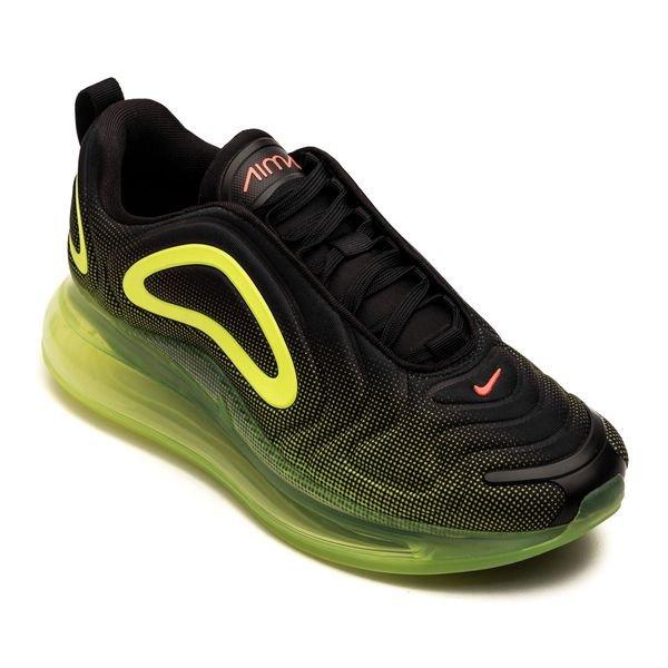 site réputé 04e61 a87f1 Nike Air Max 720 - Noir/Rouge/Jaune Fluo Enfant