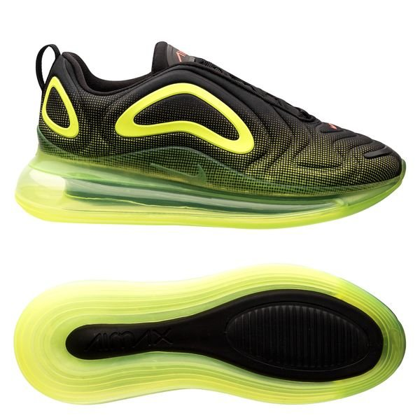 code promo b8f43 a14a0 Nike Air Max 720 - Black/Bright Crimson/Volt Kids