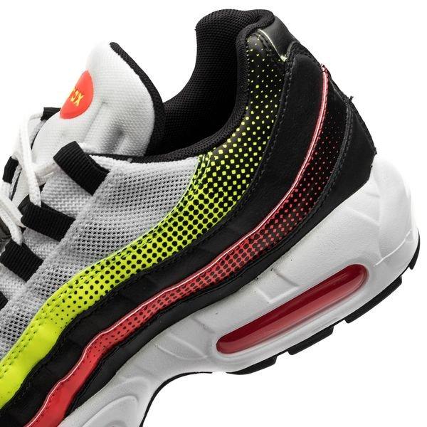 buy popular c3636 0ffe8 Nike Air Max 95 - Musta Punainen Neon 6