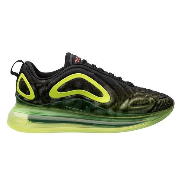 revendeur fc438 8f240 Nike Air Max 720 - Noir/Rouge/Jaune Fluo