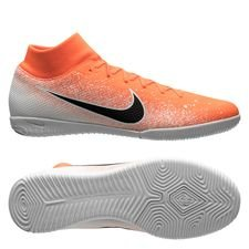 Nike Mercurial Superfly 6 Academy IC - Orange/Hvid