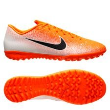 Nike Mercurial VaporX 12 Academy TF Euphoria - Orange/Hvid