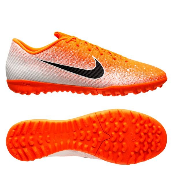 sports shoes 92b2d be02c Nike Mercurial VaporX 12 Academy TF Euphoria - Hyper Crimson/White