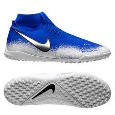 Nike Phantom Vision Academy DF TF Euphoria - Racer Blue/Wit