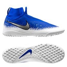 Nike Phantom Vision React Pro DF TF Euphoria - Blå/Vit