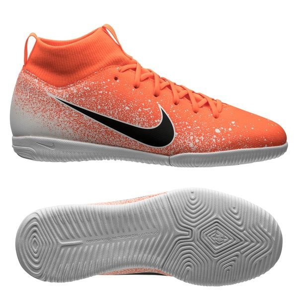 buy popular 8fa64 08635 Nike Mercurial Superfly 6 Academy IC Euphoria - Orange Blanc Enfant 0