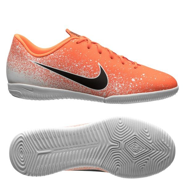 1986c4bd9f76 Nike Mercurial Vapor 12 Academy IC Euphoria - Orange Hvid Børn