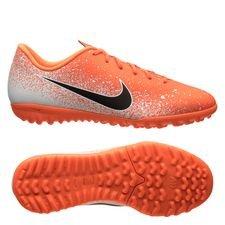 Nike Mercurial Vapor 12 Academy TF Euphoria - Oranje/Wit Kinderen