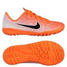 sale retailer a1d54 8389c Nike Mercurial Vapor 12 Academy TF Euphoria - Orange Vit Barn