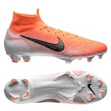 Nike Mercurial Superfly 6 Elite FG - Orange/Hvid