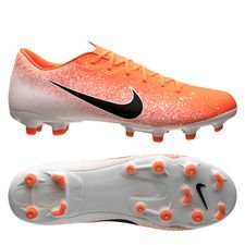 Nike Mercurial Vapor 12 Academy MG Euphoria - Orange/Weiß