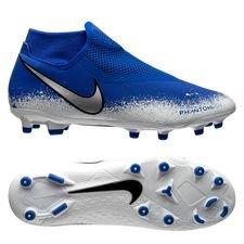 hot sale online c2ae2 aceec Nike Phantom Vision Academy DF MG Euphoria - Bleu/Blanc