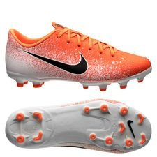 Nike Mercurial Vapor 12 Academy MG Euphoria - Orange/Vit Barn