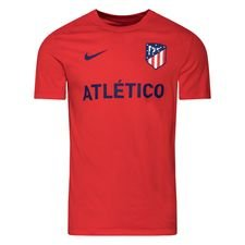 Atletico Madrid T-Shirt Core Match - Röd