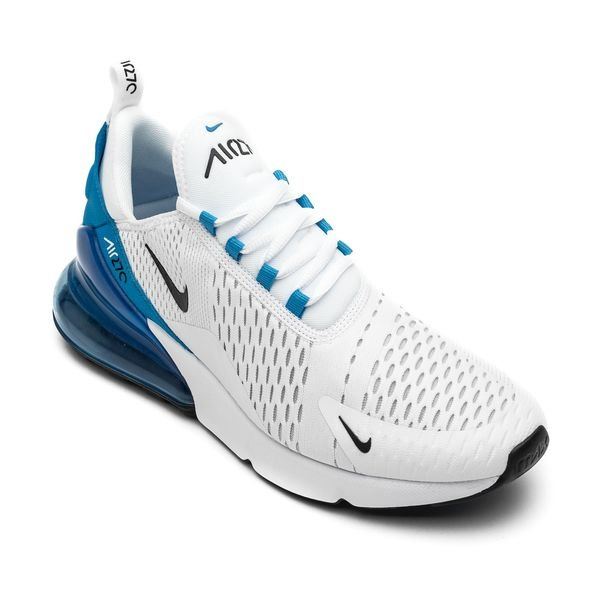 Nike Air Max 270 - White/Black/Photo Blue/Pure Platinum