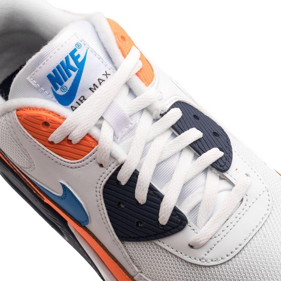 Nike Air Max 90 Essential VitBlåOrange | www