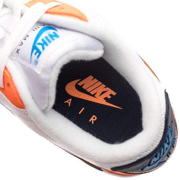 Nike Air Max 90 Essential VitBlåOrange