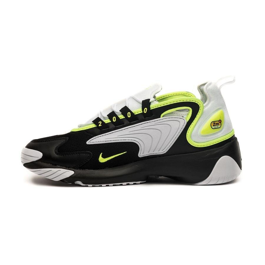 Nike Air Zoom 2K - Noir/Jaune Fluo/Blanc   www.unisportstore.fr