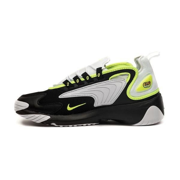Nike Air Zoom 2K NoirJaune FluoBlanc