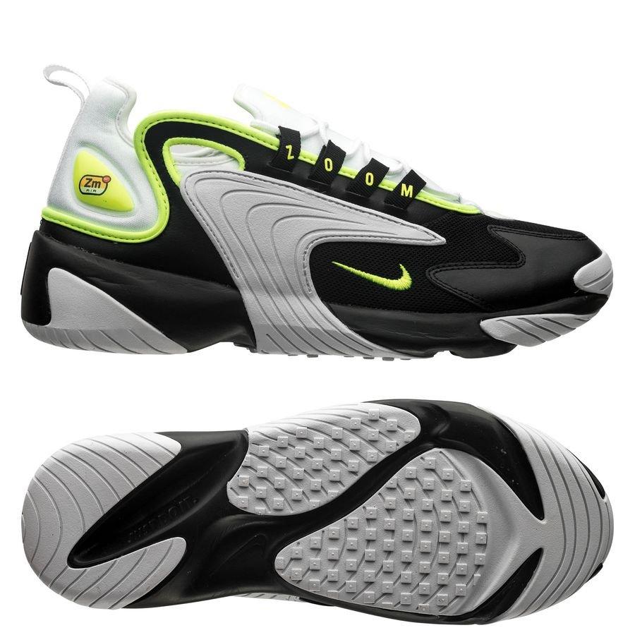 Nike Air Zoom 2K SortNeonHvit | unisportstore.no