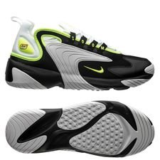 new product 39530 8024f Nike Air Zoom 2K - Noir Jaune Fluo Blanc