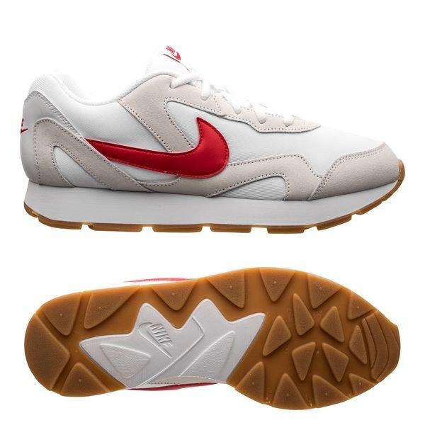 4f808c382ee Nike Delfine - White/University Red   www.unisportstore.com