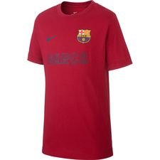 Barcelona T-Shirt Core Match - Bordeaux Barn
