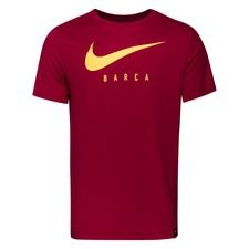 Barcelona T-Shirt Dry Training Ground - Bordeaux