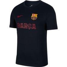 Barcelona T-Shirt Core Match - Navy