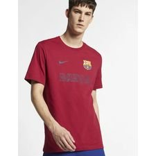 Barcelona T-Shirt Core Match - Bordeaux