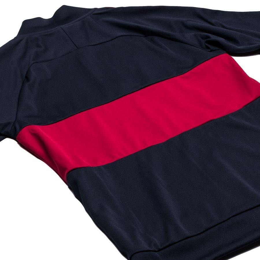 b487a10a1 Barcelona Track Jacket Dry I96 - Obsidian/Noble Red/University Gold Kids |  www.unisportstore.com