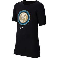 Inter T-Shirt Crest - Svart Barn
