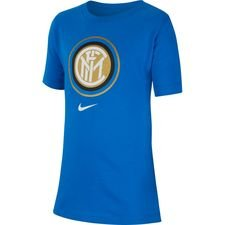 Inter T-Shirt Crest - Blå Barn