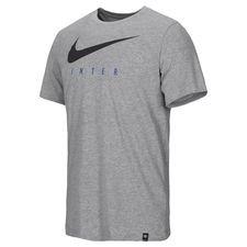 Inter T-Shirt Dry Training Ground - Grå