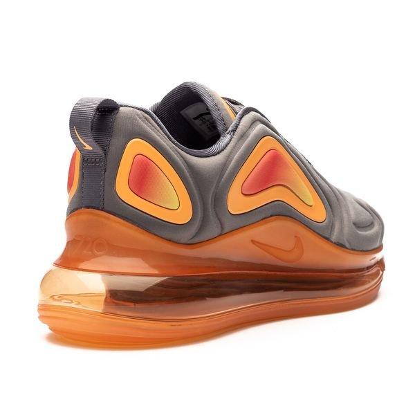 Nike Air Max 720 GrauFuel Orange Kinder | www