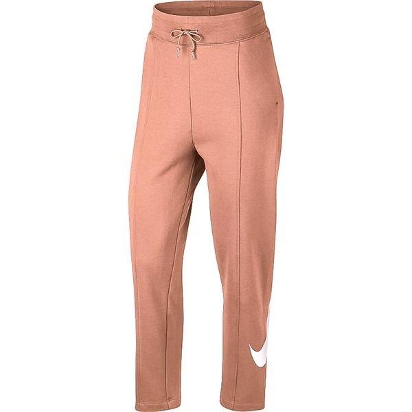 Nike Bas de Survêtement NSW Swoosh FT Rose GoldBlanc Femme
