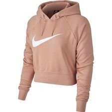 Nike Hoodie NSW FT Crop – Rose Gold/Wit Vrouw